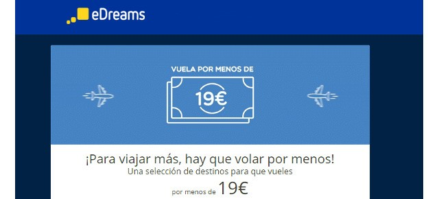 edreams oferta vuela