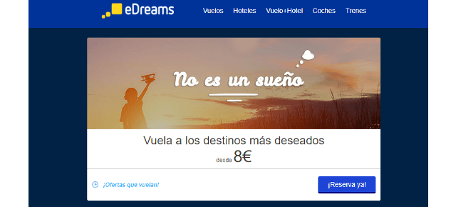edreams vuelos a londres