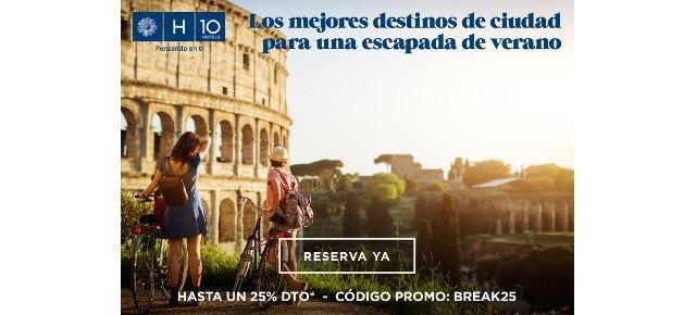 hoteles h10 verano