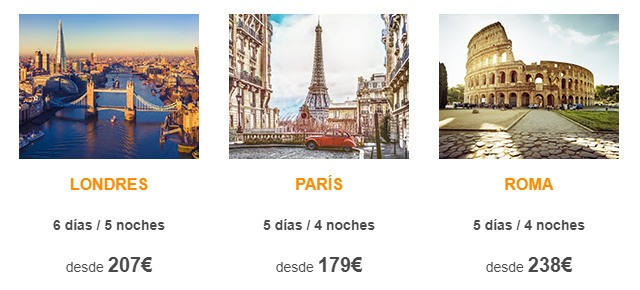 b the travel brand ofertas