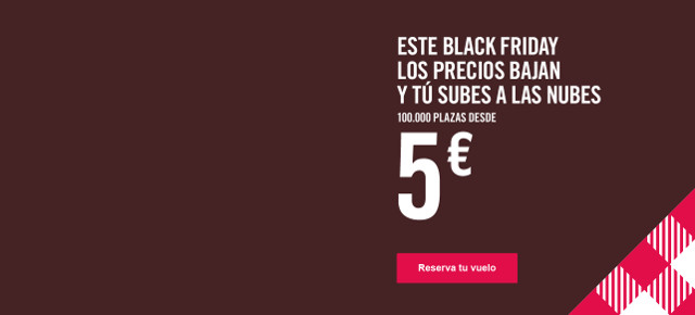 Black Friday Volotea 5 euros