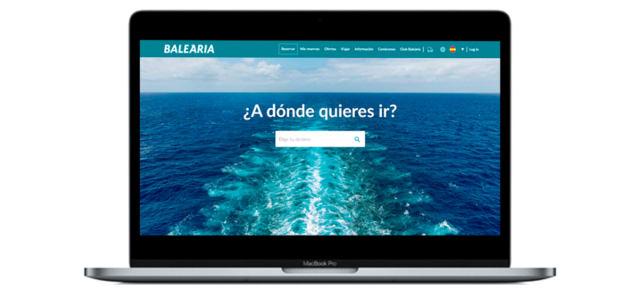 web Baleària